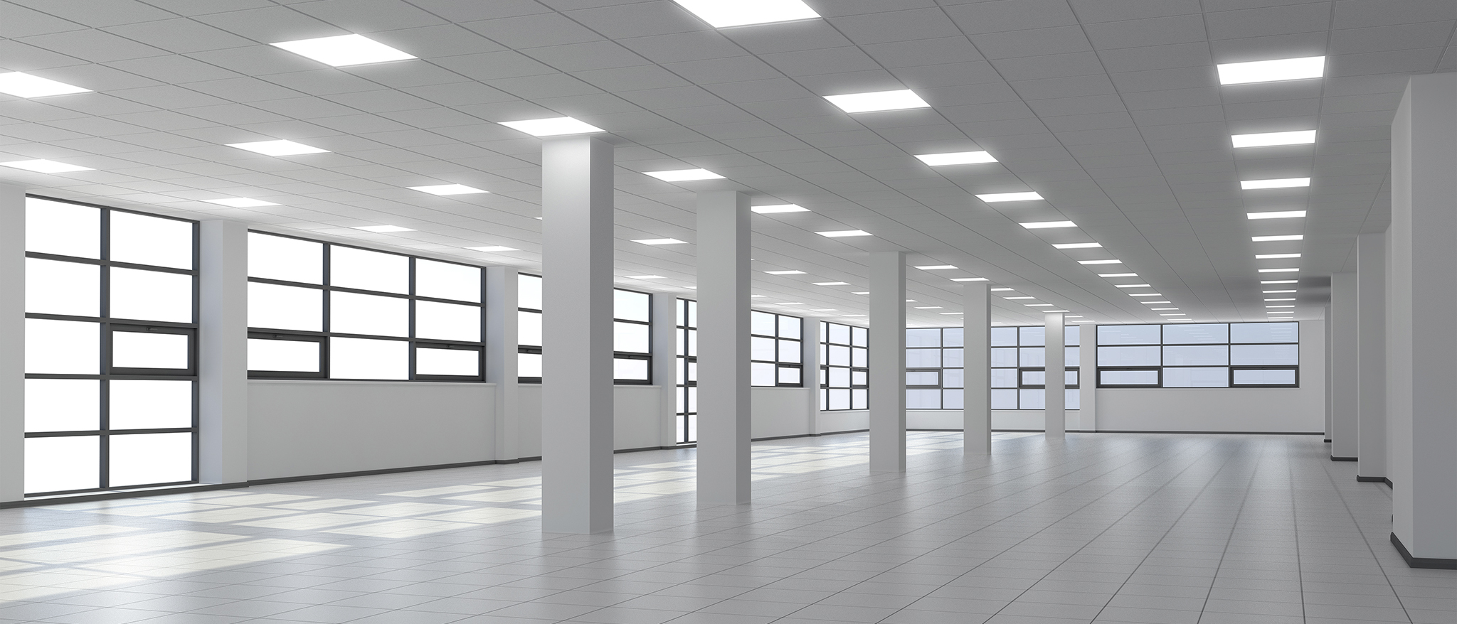 led verlichting in systeemplafond